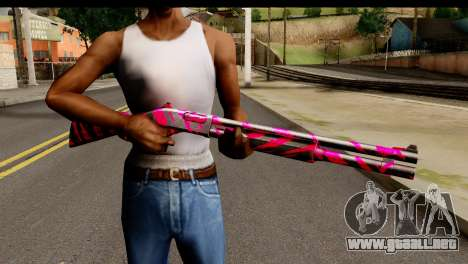 Red Tiger Shotgun para GTA San Andreas tercera pantalla