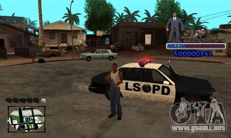 FBI C-HUD para GTA San Andreas segunda pantalla