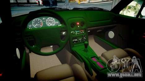 Mazda MX-5 Miata NA 1994 [EPM] para GTA 4 vista interior