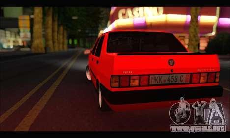 Tofas Dogan SLX Metalist (Arch Enemy) para la visión correcta GTA San Andreas