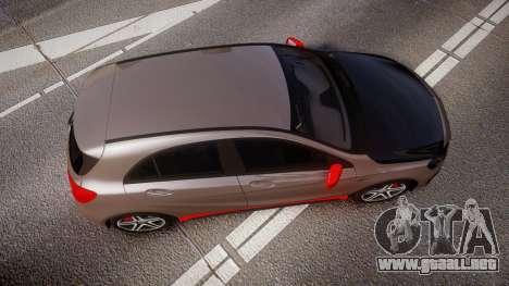 Mersedes-Benz A45 AMG PJs4 para GTA 4 visión correcta