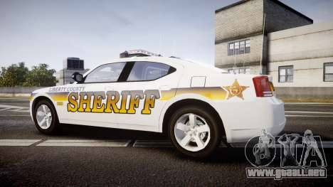 Dodge Charger 2006 Sheriff Liberty [ELS] para GTA 4 left
