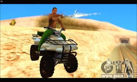 ATV Army Edition v.3 para GTA San Andreas left