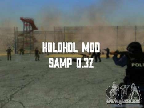 La campana en la piel 0.3 z para GTA San Andreas