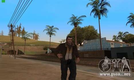 Animaciones de GTA 4 para GTA San Andreas segunda pantalla