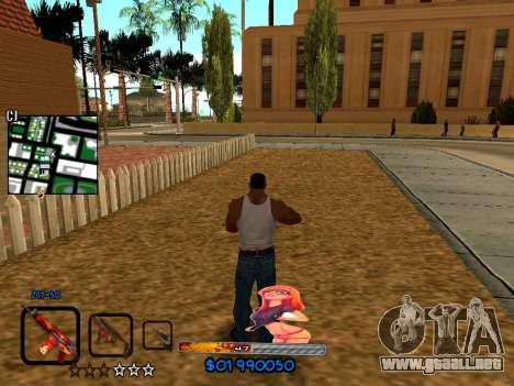 C-HUD by HudMud para GTA San Andreas