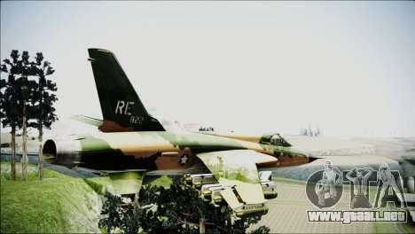 F-105 Thunderchief Polish Glider para GTA San Andreas left