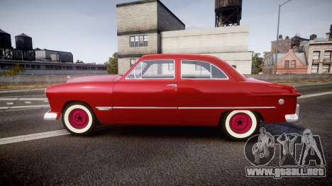 Ford Custom Tudor 1949 para GTA 4 left