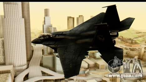 F-15 Razgriz para GTA San Andreas left