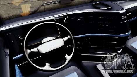 Volvo FH12 Low Deck para GTA San Andreas vista posterior izquierda