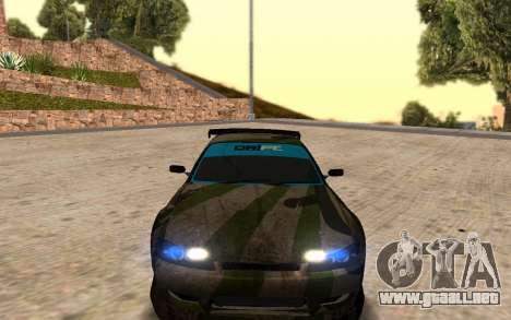 Nissan Silvia S15 Hunter para GTA San Andreas left