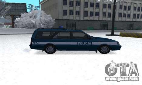 Daewoo-FSO Polonez Kombi 1.6 GSI Police 2000 para GTA San Andreas left