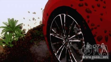 Toyota GT86 (ZN6) 2012 para la vista superior GTA San Andreas