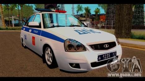 VAZ 2172 de la Policía para GTA San Andreas