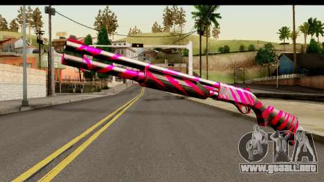 Red Tiger Shotgun para GTA San Andreas