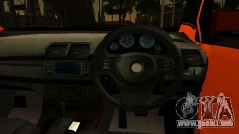 Toyota Avanza Veloz 2012 para GTA San Andreas vista posterior izquierda
