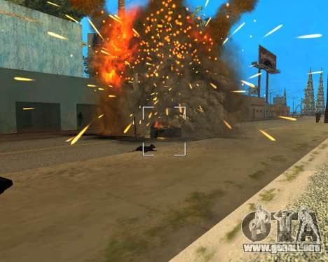 Ledios New Effects para GTA San Andreas quinta pantalla