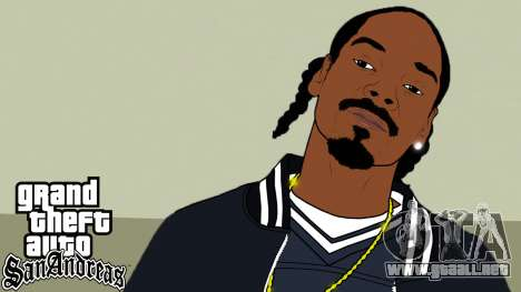 Inicio pantallas de Rap Americano V2 para GTA San Andreas segunda pantalla