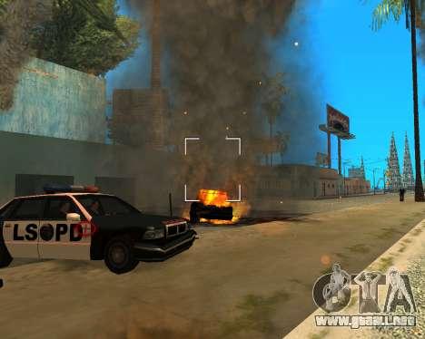 Ledios New Effects para GTA San Andreas sexta pantalla