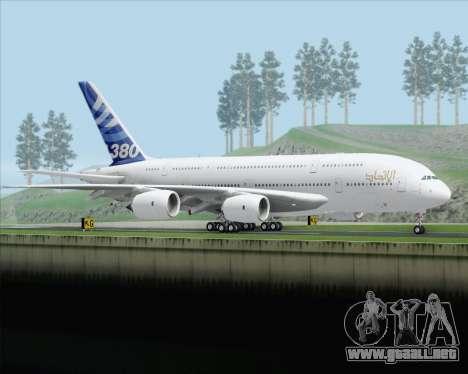Airbus A380-800 F-WWDD Etihad Titles para la visión correcta GTA San Andreas