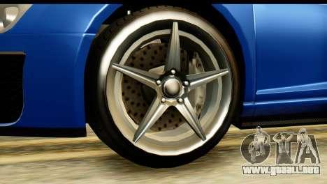 GTA 5 Obey 9F Cabrio para la visión correcta GTA San Andreas