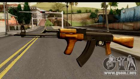 Modified AK47 para GTA San Andreas