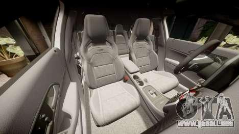 Mersedes-Benz A45 AMG PJs4 para GTA 4 vista superior