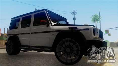 Mersedes-Benz G500 Brabus para la visión correcta GTA San Andreas