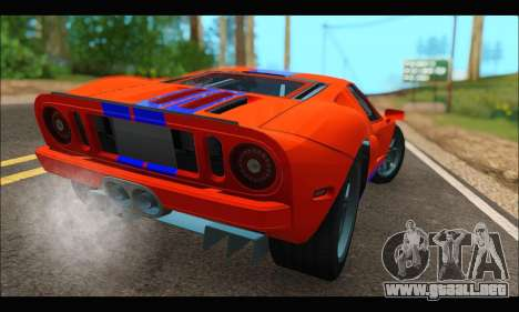 Ford GT 2006 para GTA San Andreas left