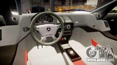 Mercedes-Benz CLK LM 1998 PJ35 para GTA 4 vista hacia atrás