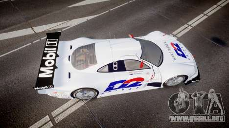 Mercedes-Benz CLK LM 1998 PJ1 para GTA 4 visión correcta