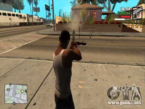 Mobile C-HUD para GTA San Andreas tercera pantalla