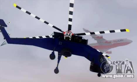 Skylift from GTA IV TBOGT para visión interna GTA San Andreas