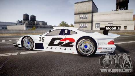 Mercedes-Benz CLK LM 1998 PJ35 para GTA 4 left