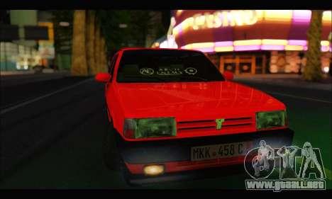 Tofas Dogan SLX Metalist (Arch Enemy) para GTA San Andreas vista hacia atrás
