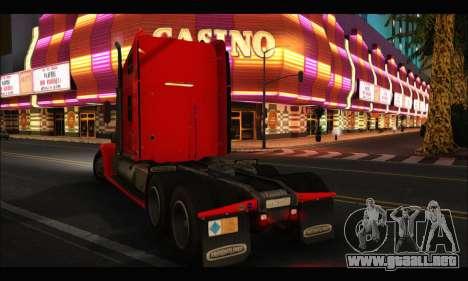 Freightliner Coronado v.2 para GTA San Andreas left