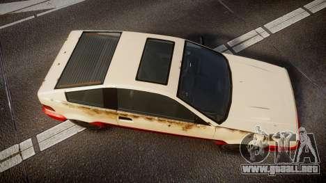 Dinka Blista Compact Beater para GTA 4 visión correcta
