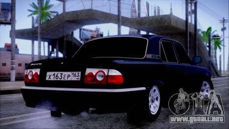 GAZ 31105 para GTA San Andreas left