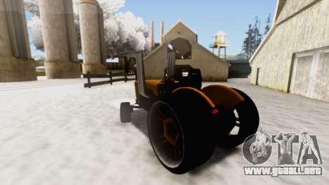 Tractor Kor4 v2 para GTA San Andreas