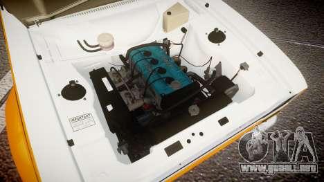 Ford Escort RS1600 PJ3 para GTA 4 vista hacia atrás