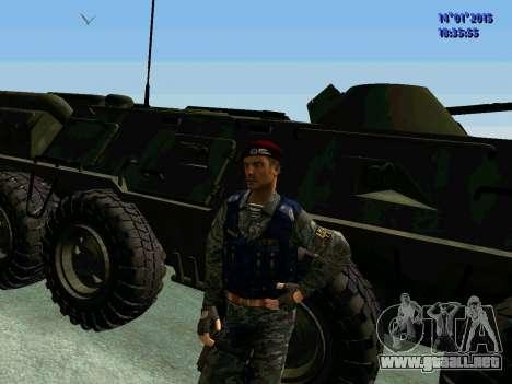 El Capataz Del Águila para GTA San Andreas sucesivamente de pantalla