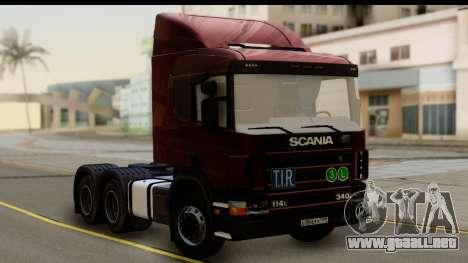 Scania P340 para GTA San Andreas