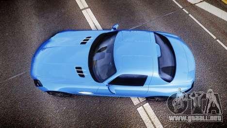 Mersedes-Benz SLS AMG 2010 para GTA 4 visión correcta