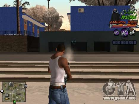 C-HUD Les Alterman para GTA San Andreas
