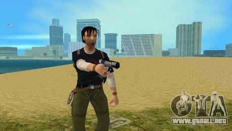 Pistola Boran X para GTA Vice City segunda pantalla
