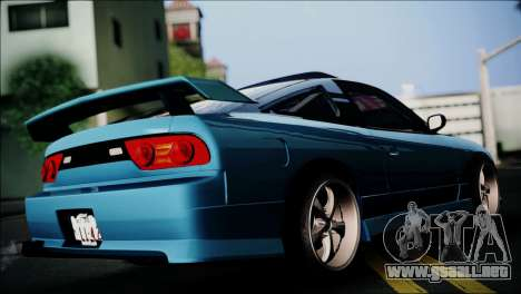 Nissan 180SX para GTA San Andreas left