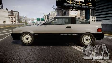 Dinka Blista Compact ST para GTA 4 left