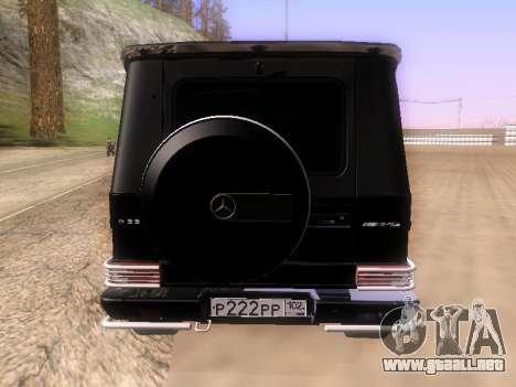 Mercedes-Benz G55 AMG para la visión correcta GTA San Andreas