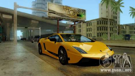 ENB Kenword Try para GTA San Andreas segunda pantalla