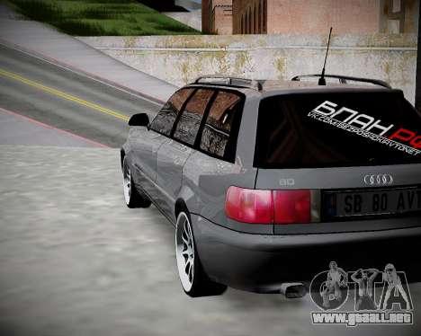Audi 80 B4 Antes de la PROHIBICIÓN.RF para GTA San Andreas left